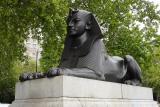 Sphinx at Cleopatra's Needle