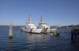 Alaska Ferry southern terminal/ Bellingham Bay Wa