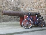 Cannon and Bicycle
