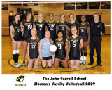 John Carroll Volleyball 2009
