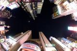 Times Square w fisheye