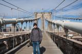 Robban on Brooklyn Bridge
