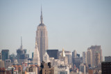 View from Brooklyn Bridge w Empire State Building