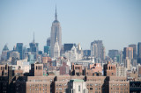 View from Brooklyn Bridge w Empire State Building 2