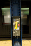 Phone in subway