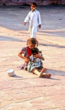 Young Beggars of the Mosque...