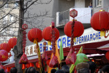 February 2008 - Procession of Chinese New Year's day - Avenue d'Ivry 75013
