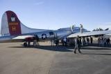 B-17 at Denver Metro Airport