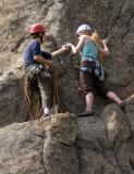 Boulder Canyon Rock Climbers