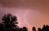 Orage au dessus de Québec / Thunderstorm over Quebec city
