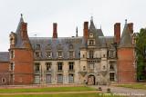 Le château depuis l'entrée