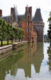 Le château et ses douves (bras de l'Eure)