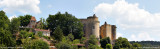 La chapelle seigneuriale et le château