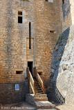 Entrée de la tour carrée