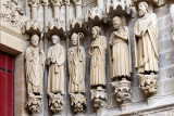 Portail Saint-Firmin - Les grandes statues du piédroit de droite