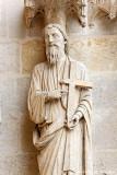 Statue du prophète Jérémie