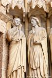 L'archange Gabriel et Marie.