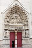 Portail Saint-Honoré ou de la Vierge Dorée