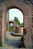 The 3 castles of Husseren - Doorway