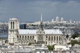Cathédrale Notre-Dame from the Panthéon's dôme