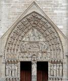 Portal of the Virgin - Portail de la Vierge