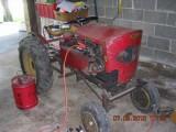 Restoration of Speedex S-23  Garden Tractor