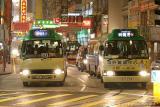 Green Mini-bus