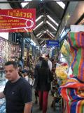 The city offers great shopping. Like the world-famous Chatujak market.