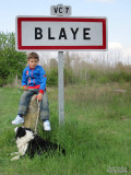 Bella and Dydy in Blaye