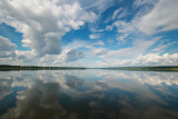 the Yenisei river - summer colour of Siberia