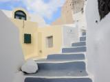 Santorini. Fira. Classical Cycladic architecture