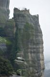 Meteora. Abandoned monastery