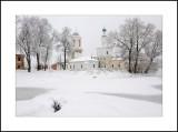 Moscow region. Town of Noginsk. Uspenskaya (Assumption) church 1753-1756