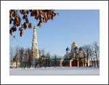 Moscow region. Town of Dzerzhinsky. Nikolo-Ugreshsky monastery