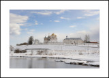Moscow Region. Town of Mozhaisk. Luzhetsky Monastery. Founded in XV