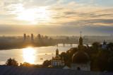 Kiev view, Dnepr river