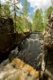 Old finnish mill, Tokhmayoki river