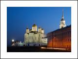 Vladimir, Uspenskiy (Assumption) cathedral 1160 and the belltower 1810