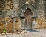 Mission Espada entrance