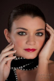 Nicole Ferguson makeup artist shoot