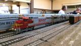 BNSF 808 ready to depart Watsonville Yard.