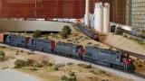 Chris Palomarez's SP lash-up for a reefer train.