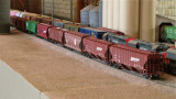 Kevin Hughes' BNSF hoppers.