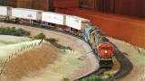 Sterling Moore's intermodal train standing by...