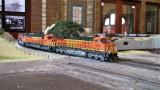 Sterling Moore's BNSF coal train entering Watsonville Yard.