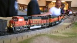 More BNSF power for the coal train.