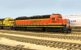 Fresh from the bakery, BNSF 7950