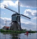paddling in holland