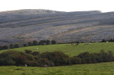 Limestone mountains of the Burren National Park