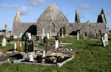 Cemetery of the Kilmacduagh monastery